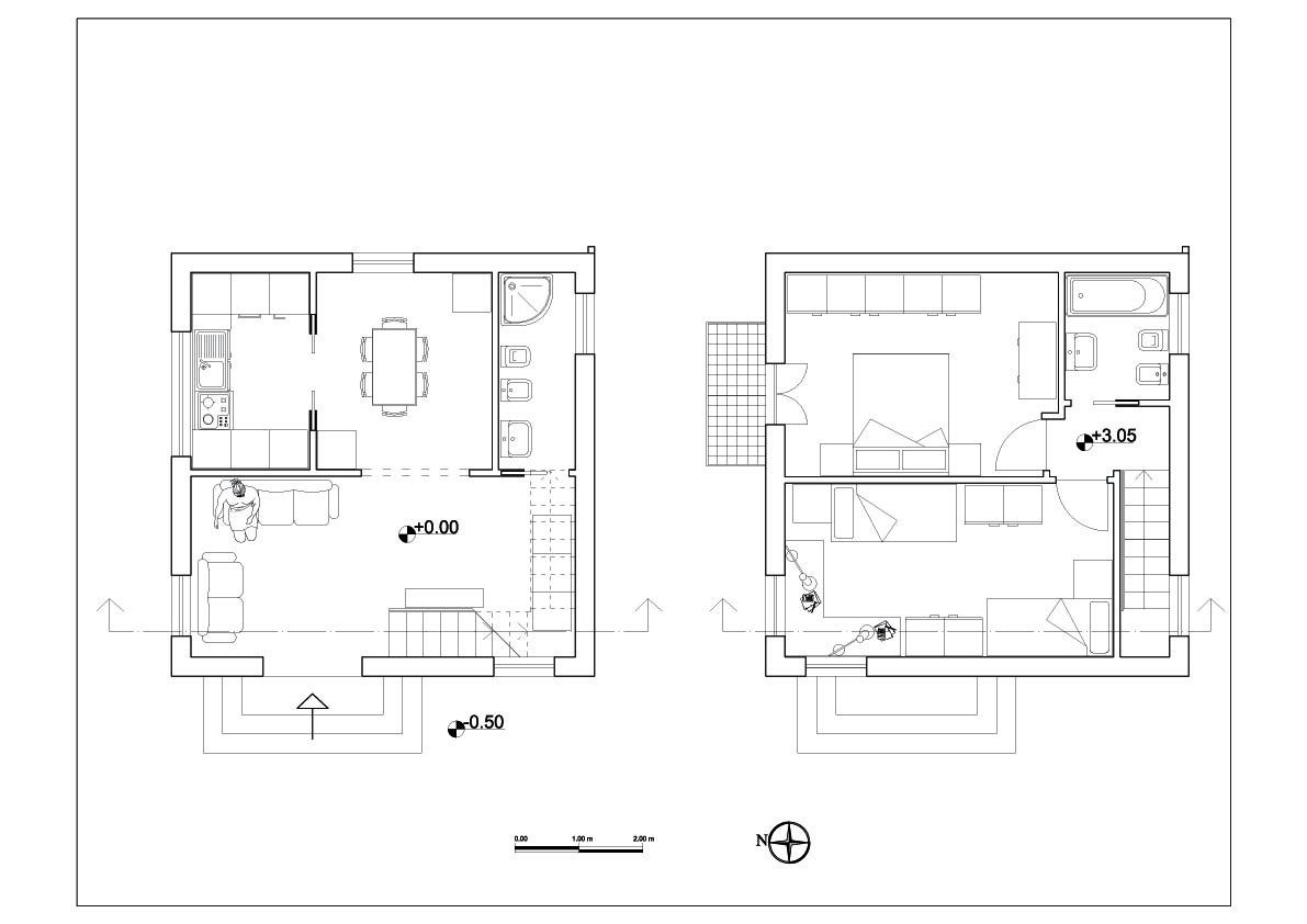 Laboratorio didattico didattica ing g mongiello for Casa moderna pianta